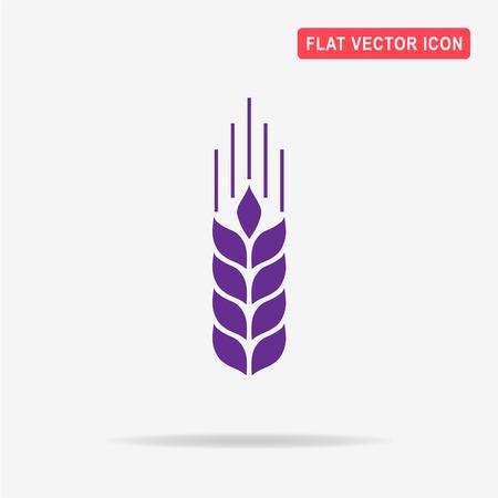 produits céréaliers: Icône de l'agriculture. Illustration de concept de vecteur pour la conception.