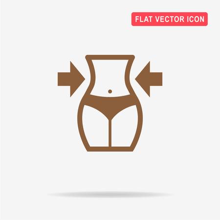 icône de régime. Vector illustration concept pour la conception. Vecteurs