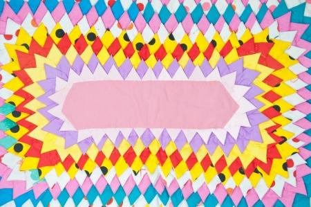Colorful cloth photo