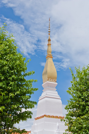 chum: Wat Phra That Choeng Chum in Sakonnakorn province,northeastern of Thailand