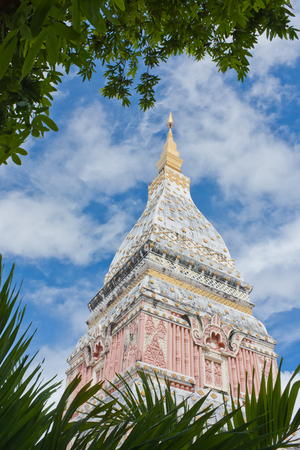 Wat Phra That Renu in Nakhonphanom province,northeastern of Thailand  Stock Photo - 22524797