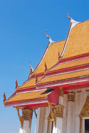 Thai Temple Roofs  photo