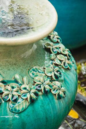 Ceramic jar photo