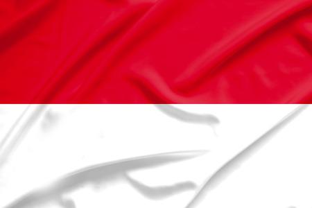 indonesia: Indonesia flag Stock Photo
