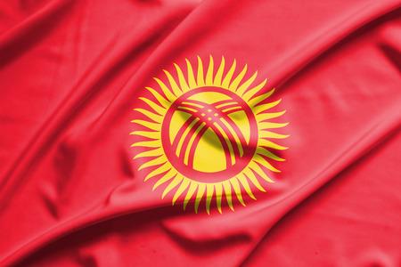 kyrgyzstan: Bandera de Kirguistán