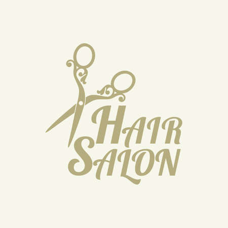 for a beauty salon or hairdressing salon. Vector illustration.