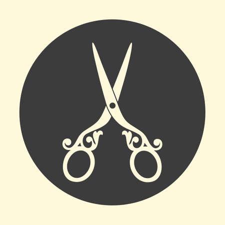 Scissors icon vector illustration.
