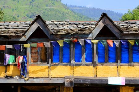 rural india: Rural indian house in northern india.