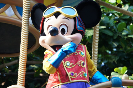 minnie mouse: Disneyland Hong Kong  Flights of Fantasy