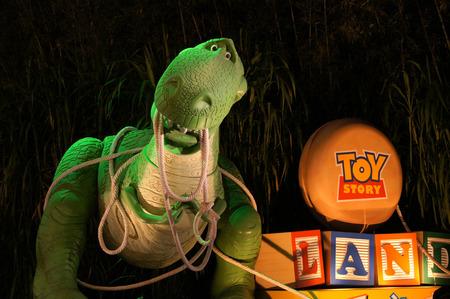 toy story: Disneyland Hongkong  Toy Story Land Editorial