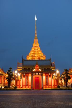 crematorium: Phra Meru,  The royal crematorium of HRH Princess Bejaratana Rajasuda at Sanam Luang