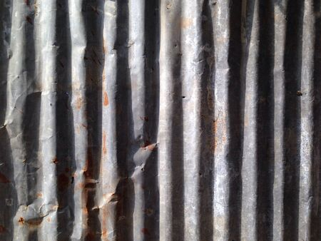 metal: Rusty Metal Wall