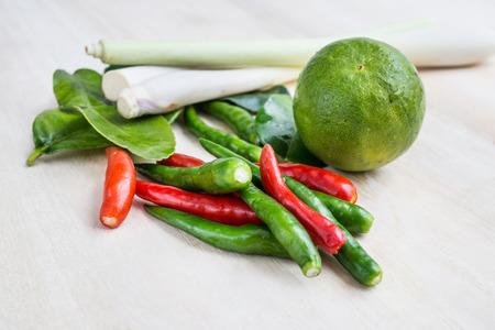 ingredient: Thai tom-yam ingredient