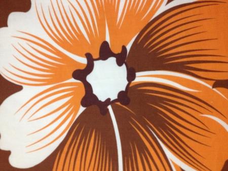 pillows: Flower bedspreads Stock Photo