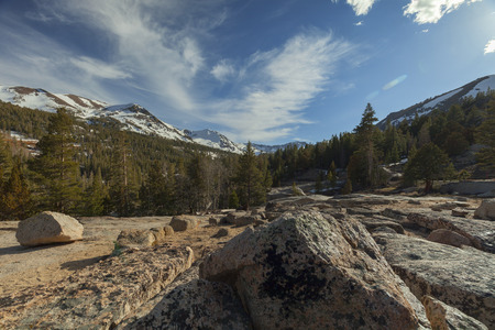 Sonora Pass - Sonora Pass in the Sierra Nevada mountains on the Pacific Crest Trail.