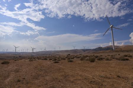 Desert Turbines - Turbines in Mojave desert.