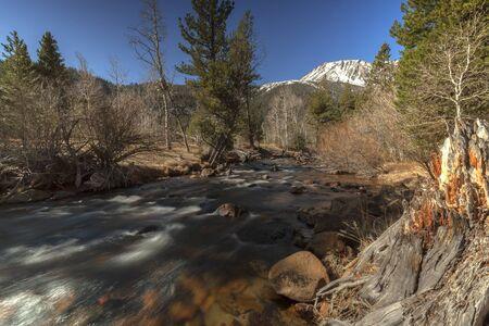 Mountain Flow - Melting Sierra snow melt flowing through Yosemite.