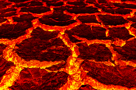 magma Background, The red crack astage for background Foto de archivo