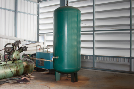 The Air tank for Pneumatic System