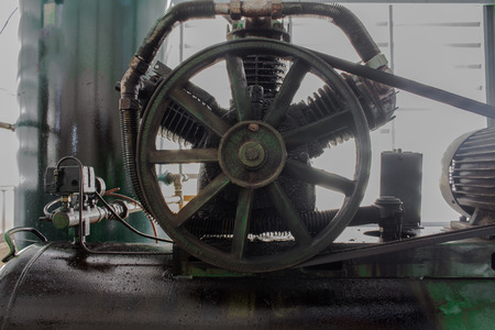 The Pulley on air compressor