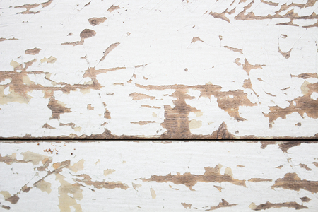 The Wood surface painted in two colors Stock Photo