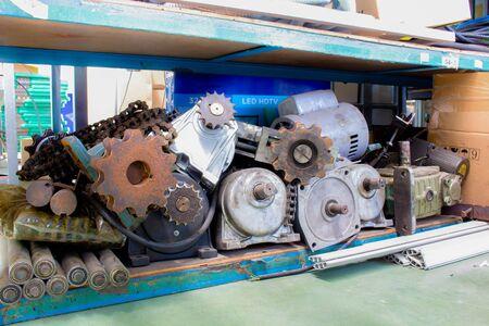 Keeping equipment industry Motor, Gear, Shaft, Chain.