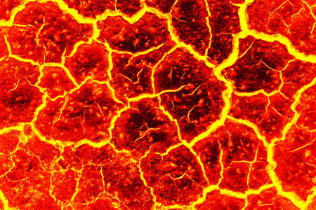 magma Background, The red crack abstract for background