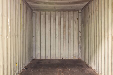 The inside container empty ready for load product Imagens