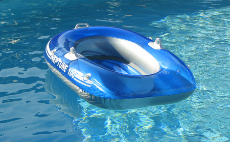 float: Pool Toy, boat