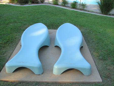 sun bathing: Sun Bathing chase Lounge chairs