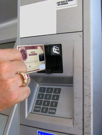 Credit Debit Card Payment Slot Stock Photo - 1897615
