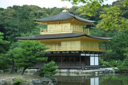 golden Kinkakuji temple