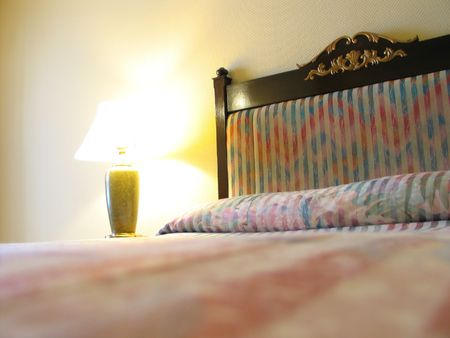 a hotel bedroom Stock Photo - 352082