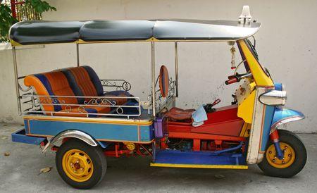 a thailand motor taxi Stock Photo - 389864