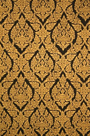 of siam: a thailand temple pattern Stock Photo