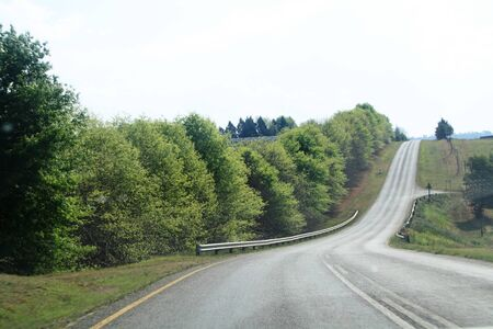 Road in country photo