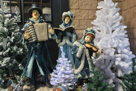 carols: Christmas Carols Stock Photo