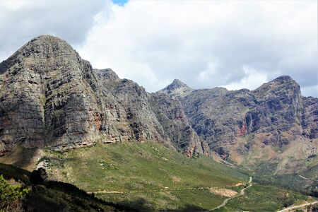 Peak of a mountain range in the Cape Province