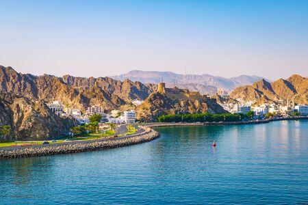Landscape of Muscat, Oman, Middle East.