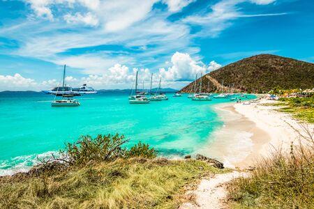 White Bay Beach in Jost Van Dyke, British Virgin Islands.