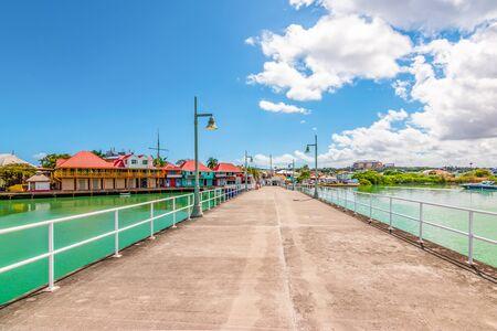 Cruise port of St John's, Antigua, Caribbean