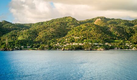 Landscape of Samana, Dominican Republic.