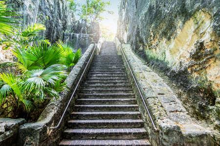 Queen's Staircase in Nassau, Bahamas. Фото со стока - 152020586