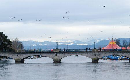 zurich: A Bridge in Zurich