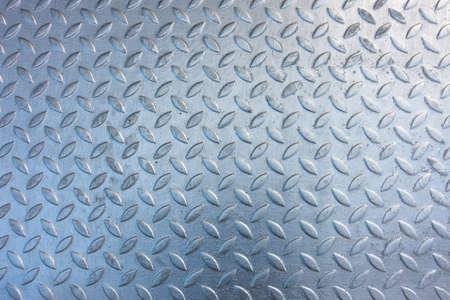 stamped: Stamped metallic color steel floor plate Stock Photo