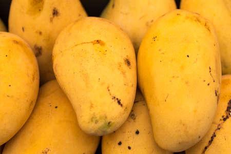 ripened: Ripened mango on street food