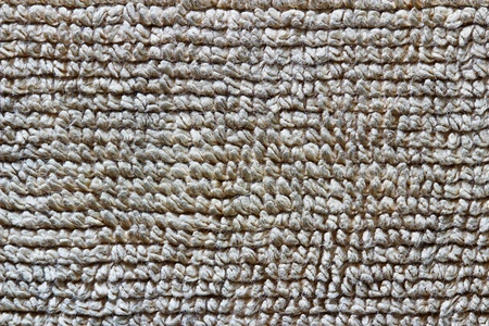 Detailed brown towel texture photo