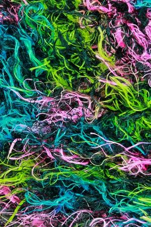 Fabric multicolor background