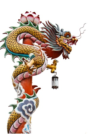 Chinese style dragon statue Stock Photo - 13013536
