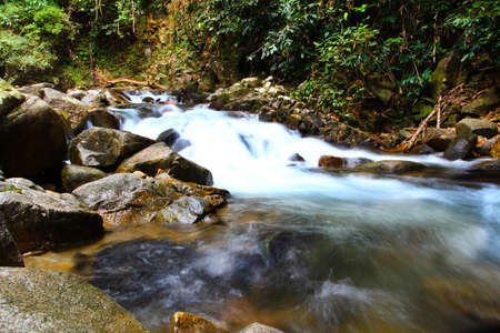 waterfall in national park , Chanthaburi ,Thailand  photo